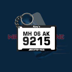 Acrylic Printed keychain